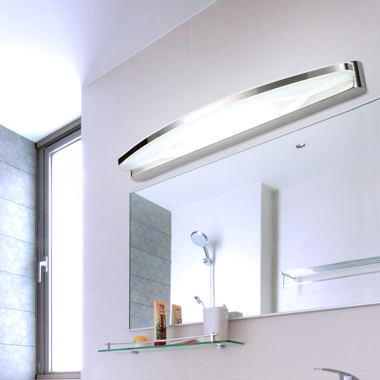 Pre modern minimalist led mirror light water fog - Bedroom vanity mirror with lights ...