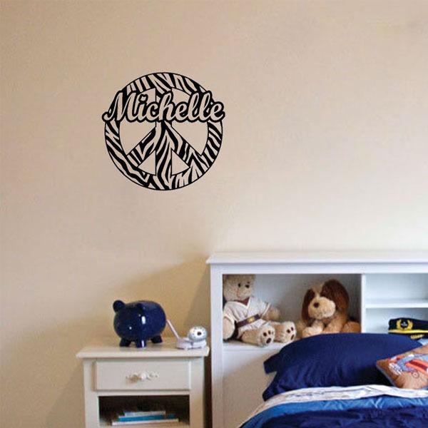 Zebra Stripe Wall Decorations 118