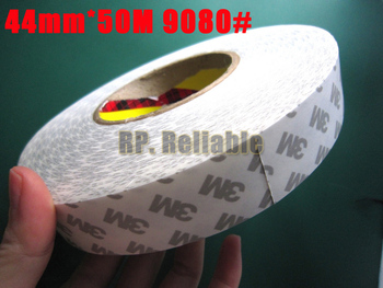 1x 44mm *50M 3M 9080 Double Sided Adhesive Tape for High Temperature, Tablet, Mini Pad LCD, Screen, Panel Repair