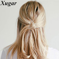 Fashion Metal Geometric Triangle Hairpin Gold Silver Elegant Hair Clips For Popular Girls Hair Accessories