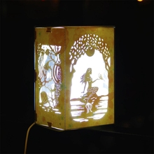 USB LED Night Light Table Lamp Home Decorations Bedroom Decor for kids holiday birthday lover gifts wedding party The Mermaid(China (Mainland))