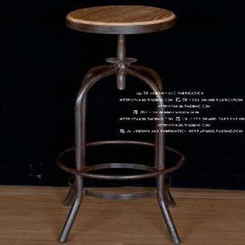 Vintage Metal Bar Chair Wood Amp Metal Bar Stool Bar Anti