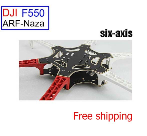 DJI FlameWheel F550 ARF-Naza suits full six-axis set can equipped with PTZ rc Quadcopter rc aircraft Free shipping<br><br>Aliexpress