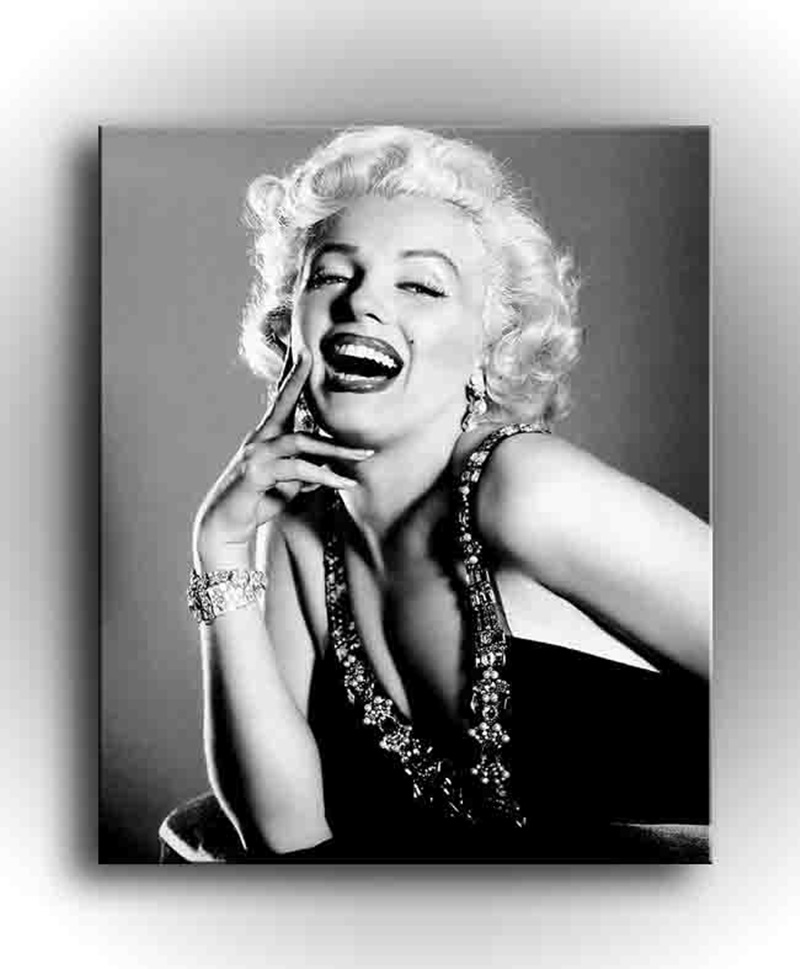 1 piece Modern Wall Painting Marilyn Monroe Home Decoration Art Picture Paint on Canvas,Canvas Painting,Wall Picture,painting(China (Mainland))