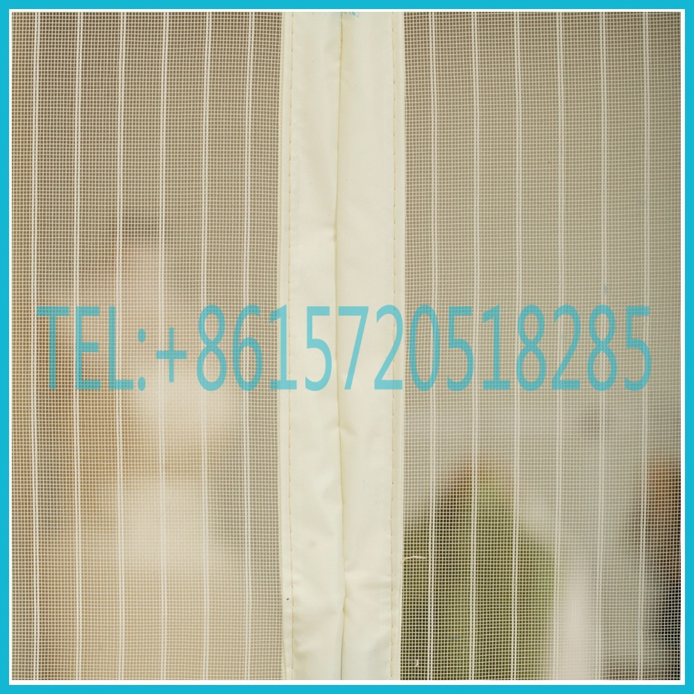 anti mosquits standard and size customized magic window curtain