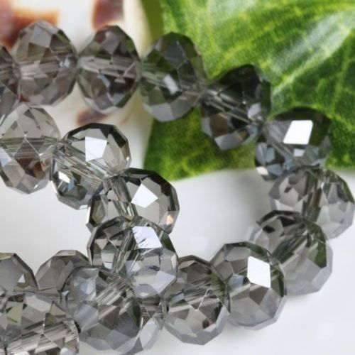 Low price beautiful colorful 6X8MM crystal beads 70(China (Mainland))