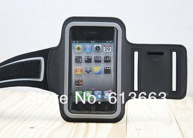 Sport Armband For iPhone 4S Colorful Arm Band For iPhone 4 3G 3GS Travel Accessory For iPod itouch 10pcs/lot FREE SHIPPING