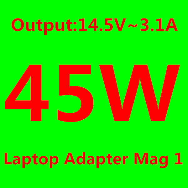 "45W 14.5V 3.1A L tip Power Adapter Laptop Charger for Magsafe MacBook Air 11"" 13"" Before June 2012 US/EU/AU/UK Plug(China (Mainland))"