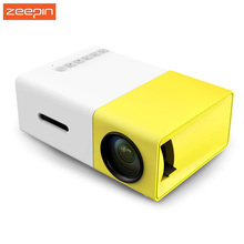 YG300/YG310 LCD Portable Projector HD Home Media Player MINI LED Projector Video Games TV Home Theatre Movie Support HDMI AV SD(China (Mainland))
