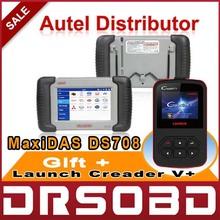 [AUTEL Distributor] Autel MaxiDas DS708 Automotive Diagnostic and Analysis System Autel DS708 Code Reader Free Update Online(China (Mainland))