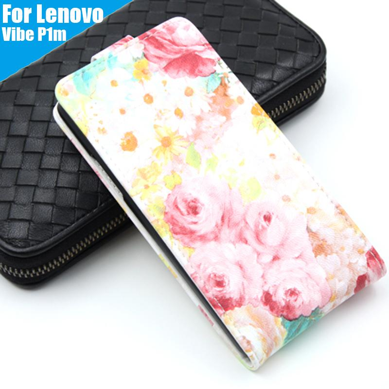 Leather case Wallet style cover Flip Telephone Holder and Cell phone shell For Lenovo vibe P1M Mobile phone bag 8 Colors(China (Mainland))