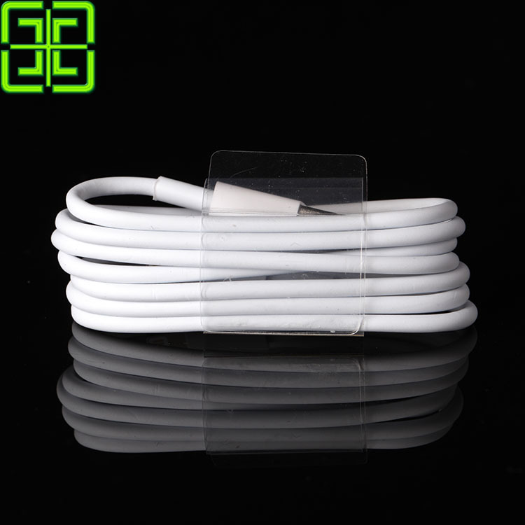 GAEY Update 2015 Latest White Wire 8pin USB Date Sync Charging Charger Cable for iPhone 5 5s 6 plus for iPad fit for ios 8 9 1M(China (Mainland))