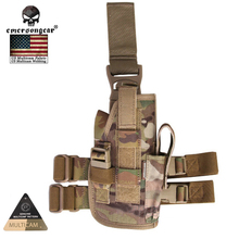 2016 New EmersonGear SALES LEG HOLSTER 500D Nylon Multicam Tropic Arid Black EM6201(China (Mainland))