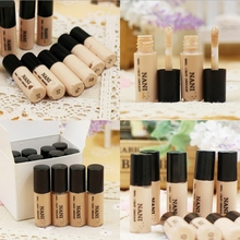 Free Shipping Hide Blemish Silky Liquid Cream Concealer Lip Dark Eye Circle Cover Concealer Stick Long Lasting Moisture(China (Mainland))
