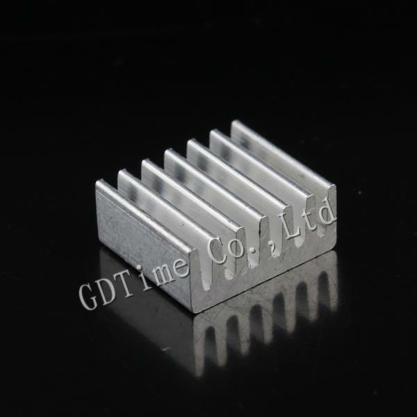 1000PCS Lot Mini Aluminum 10x11x5mm LED IC Cooling Cooler Heatsink Heat Sink GD028