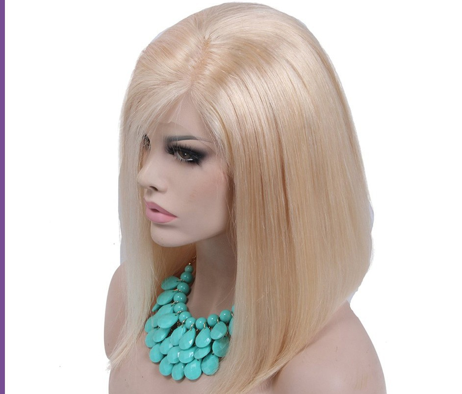 5 Ft White Blonde Wig 3