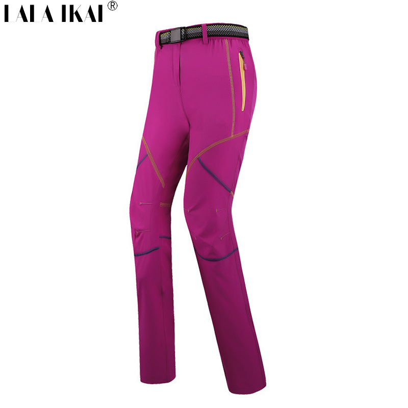 Hiking Pants Women Breathable Quick Dry Brand Outdoor Sport Trousers Summer Camping Hiking Pants Mountain Women HWB0088-5(China (Mainland))