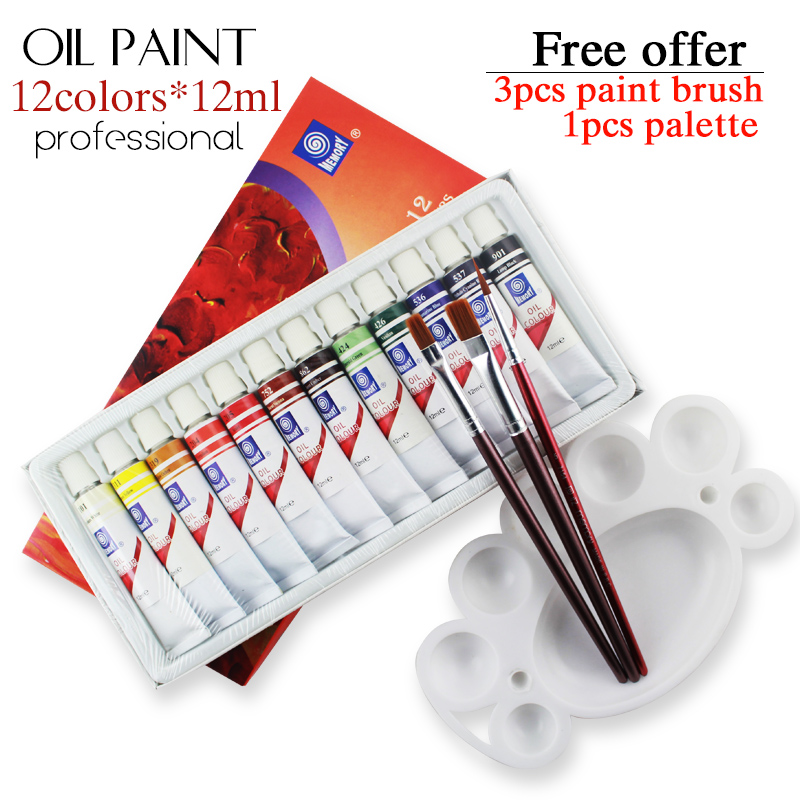 Professional brand tube oil paints art for artists canvas for Canvas painting supplies