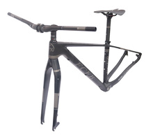 Buy FCFB bicycle 29er carbon 3K frame Chinese MTB carbon frame 15.5/17/19inch carbon mountain bike frame disc carbon mtb frame BSA for $323.84 in AliExpress store