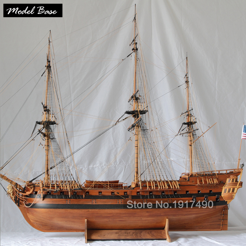 Wooden Ship Models Kits 3d Laser Cut Model-Ship-Assembly Diy Train Hobby Scale 1/48 Richard Museum Good Level Of Ship Model(China (Mainland))