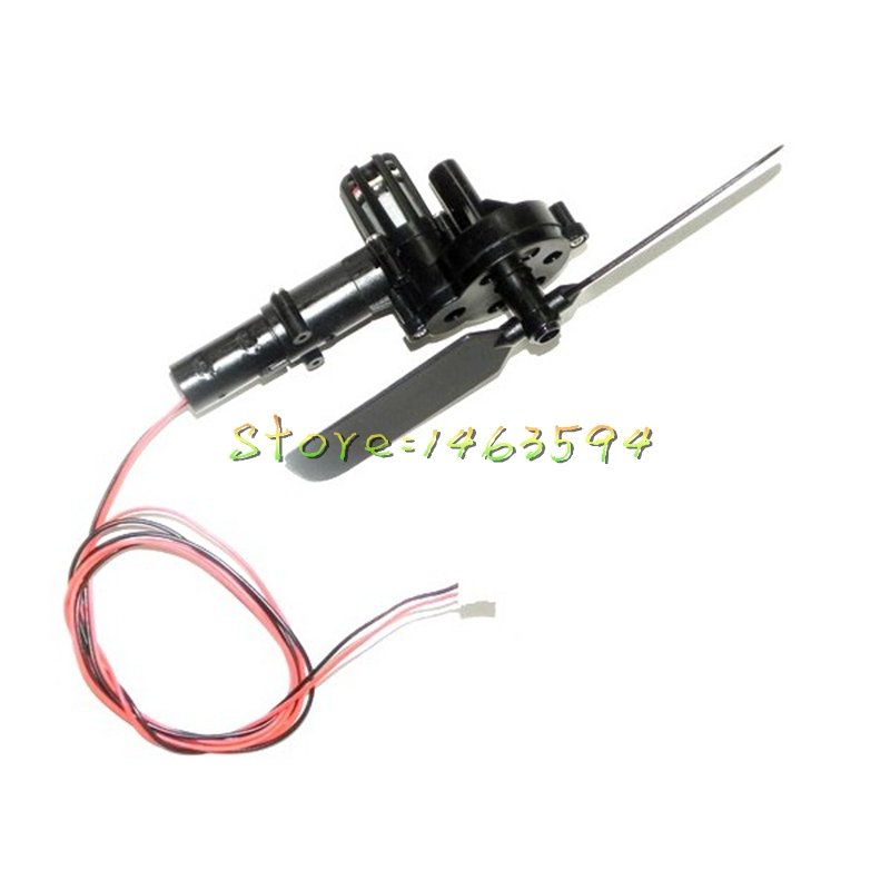 Free shipping JXD 350 350V Tail propeller assembly JXD350 350V RC Helicopter Spare Parts Tail motor+tail motor deck+tail blade(China (Mainland))