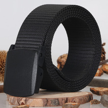 Automatic Buckle Nylon Belt Male Army Tactical Belt Jeans Mens Luxury Waist Designer Belts Men High