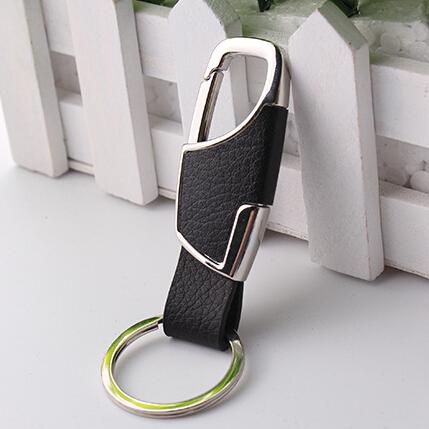 Genuine Leather key chain car Waist hanging keychain for Dodge Journey JUVC/Charger/DURANGO/CBLIBER/SXT/DART(China (Mainland))