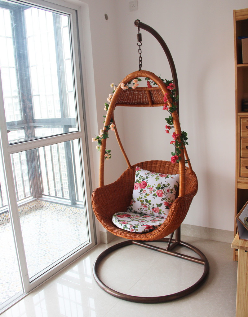 wicker chair swing rattan basket rattan indoor rattan hanging chair