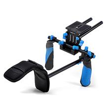 Buy RL-02 DSLR/VCR Rig Movie Kit Shoulder Mount DSLR Camera DV HDV Camcorder Canon 550D 500D 60D 50D 40D 5D,5D2 5D3 1Ds for $117.89 in AliExpress store