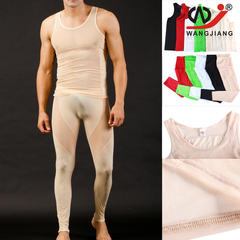 Winter Man Thermal Underwear Set Long Johns Set Winter Men Sexy Long Underwear Legging Thermo Suit Clothing Set Skin 1004-BX/CKU(China (Mainland))