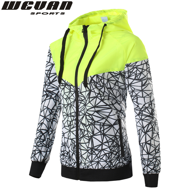 Весна Осень новый женская спортивная куртка с капюшоном куртка Женщин Моды Случайные ...