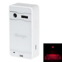Bluetooth Virtual Laser  and USB interface at the samce time and convenient to connect with mobile devices Projection Keyboard