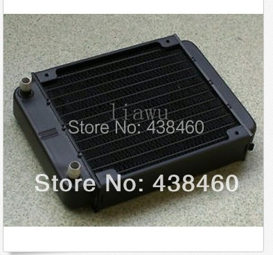 Aluminum Black Heat Exchanger Radiator CPU CO2 Laser Water Cool System 12 Pipe(China (Mainland))