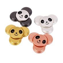 Buy 4 Colours Finger Spinner Panda Rotating Fidget Hand Spinner ADHD Autism Fingertips Fingers Gyro Reduce Stress Gift Toys for $3.51 in AliExpress store