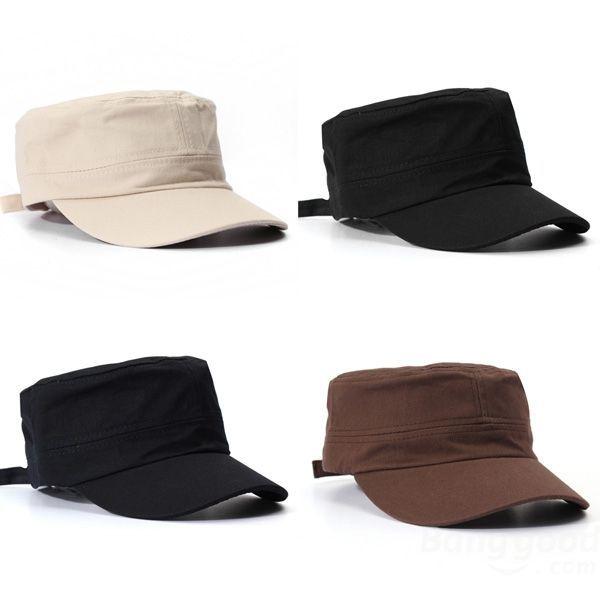 FlyBirds Korean Fashion Flat Cap For Men & Women Outdoor Army Hat Baseball Cap(China (Mainland))