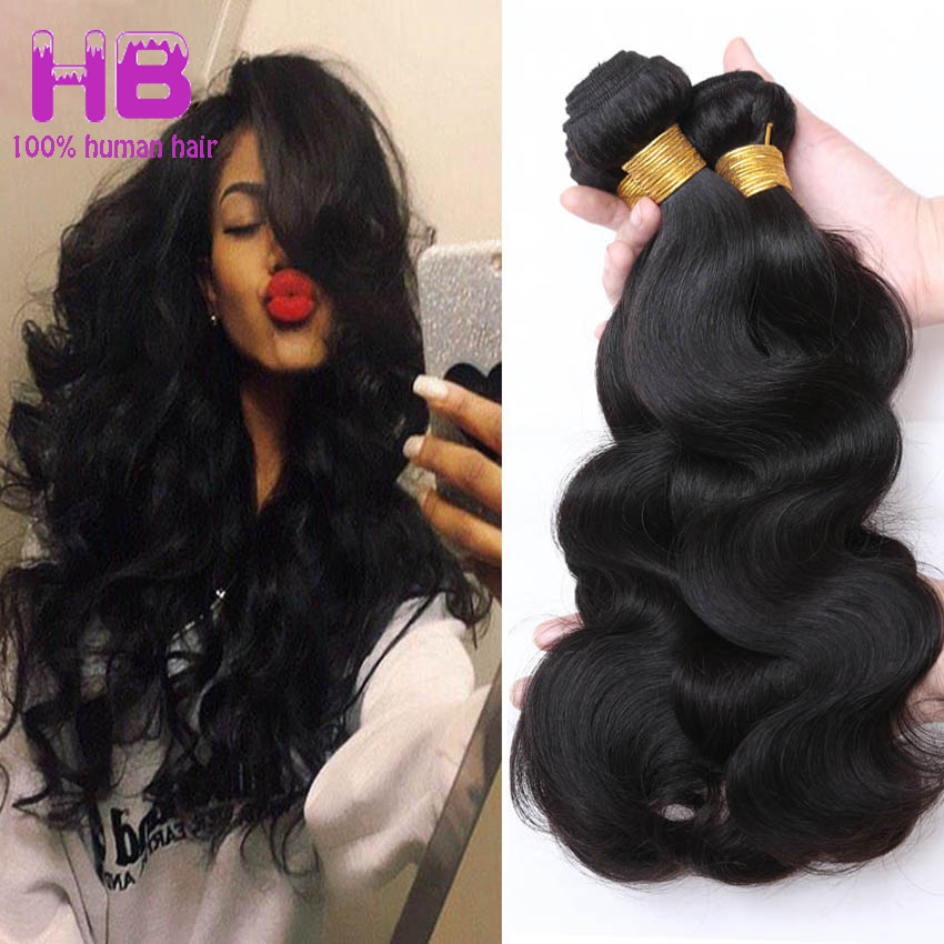 Peruvian Virgin Hair Body Wave 4 Bundle Weaves 6A Unprocessed Peruvian Body Wave Peruvian Wet And Wavy Human Hair Extensions #1B<br><br>Aliexpress