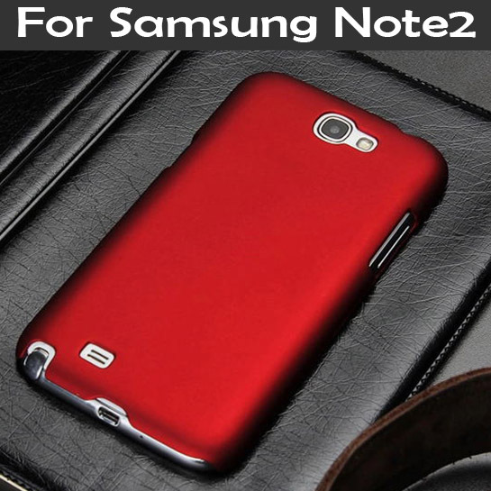Samsung Galaxy Note 2 Note2 II N7100 7100 SLIM Frosted Matte phone Back cover Hood Hybrid Hard Plastic cell cases - TAOYUNXI store