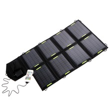 New Outdoor Mobile Power 18V 28W Solar USB Panel Battery Power Bank Pack Charger For Laptop Tablet for iPhone For Samsung S6(China (Mainland))