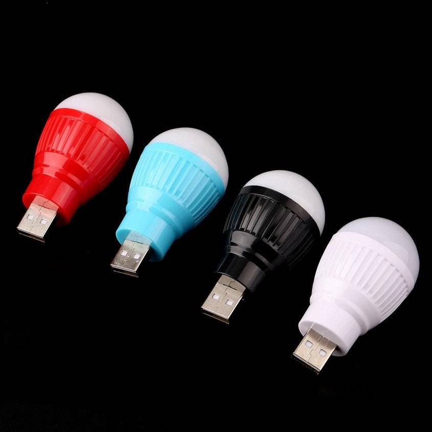 1 pcs Portable Mini USB LED Light Lamp Bulb For Computer Laptop PC Desk Reading Hot New(China (Mainland))
