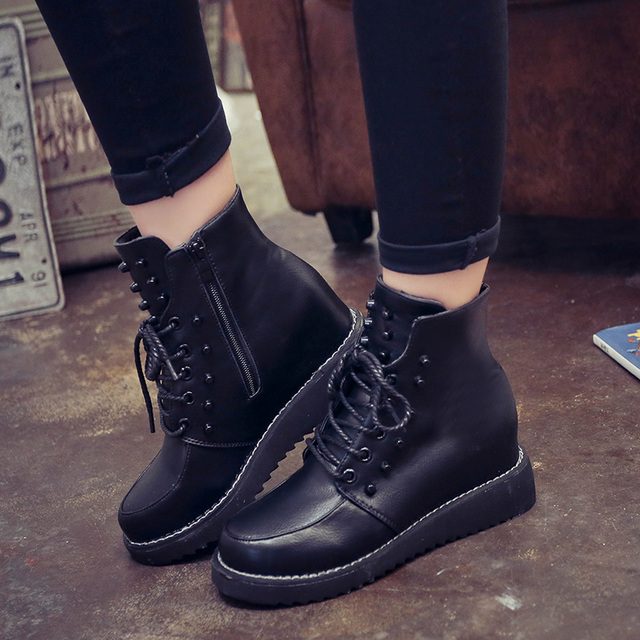 Wedge heel ankle boots sale