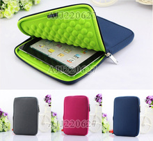 "7"" 10"" Inch Laptop Sleeve Bag Case Neoprene Computer Bag tablet Cover for Apple Ipad Air Mini 5 4 3 samsung galaxy tab 3"