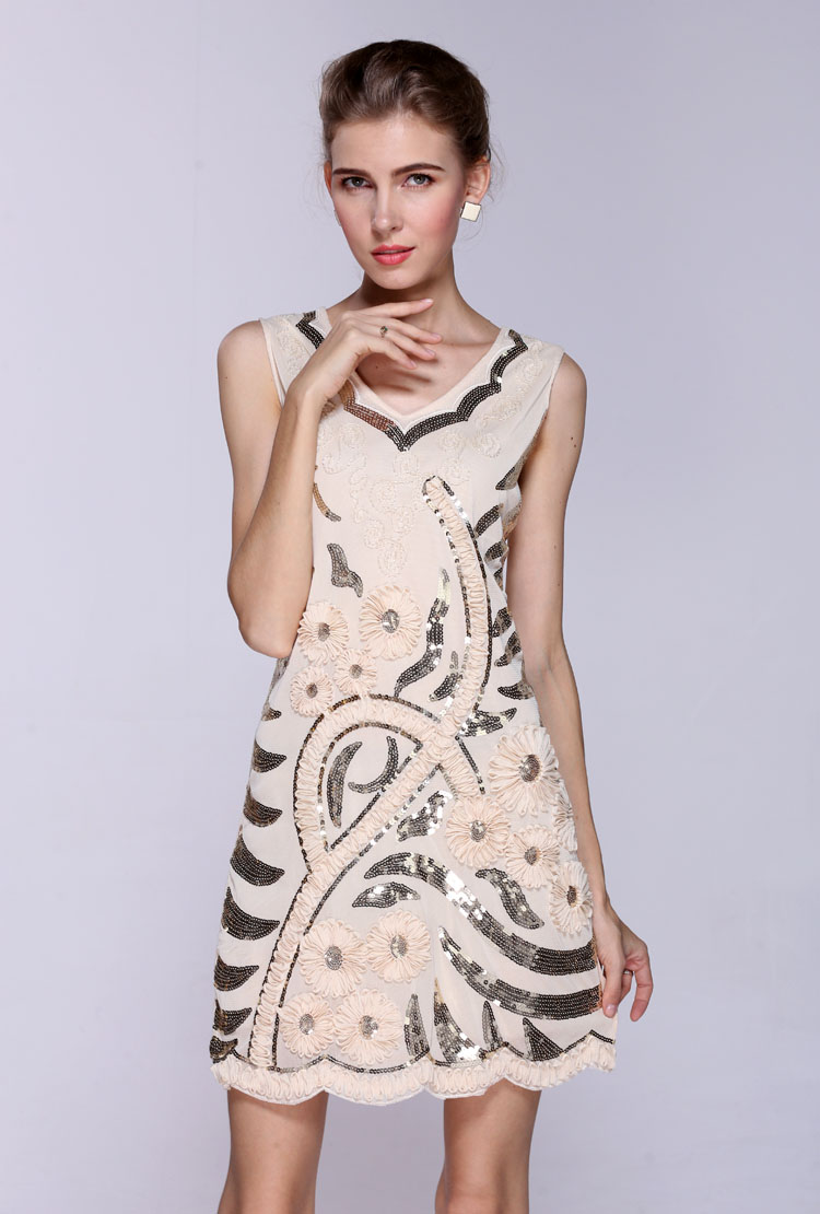 Buy Hot Sale Europe And The United States Sun Flower Sequined Women 39 S Sequined
