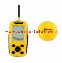Mail Free Shipping!!! SRFF103 (wireless) Dot Matrix Sonar Sensor Wireless Fish Finder mini Wireless Fish tester Finder tester(China (Mainland))