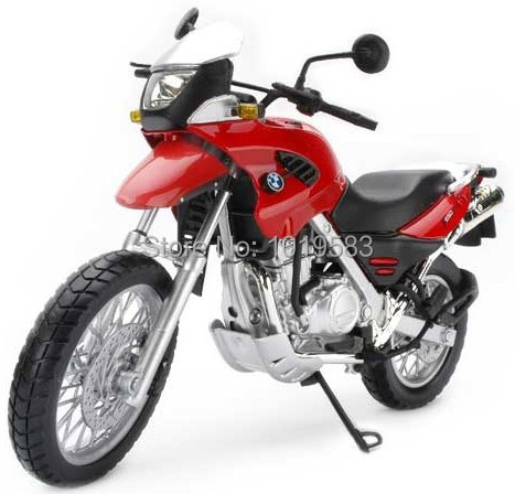 (5pcs/pack) Wholesale 1/12 Scale Diecast Motorcycle Model Toys F650GS Cross-country Motorbike Metal Model Toy -Free Shipping(China (Mainland))