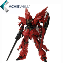 Brand GG Anime 1/100 MG Gundam Sinanju MSN-06 Assemble Model Action Figure Red Fighting Robot Collection Toys