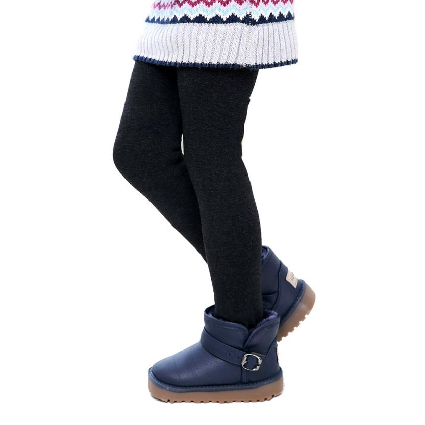2015 Winter Girl Thick Pants tights Children Thick Warm Elastic Waist stockings All children's clothes and accessories(China (Mainland))
