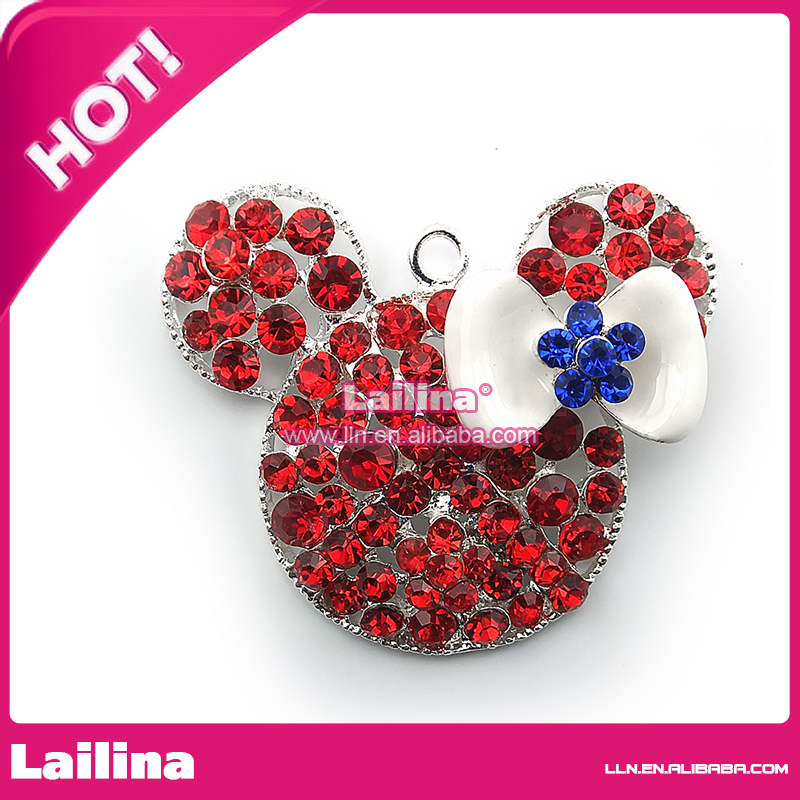 Lovely minie mouse pendant &amp; charm for necklace<br><br>Aliexpress