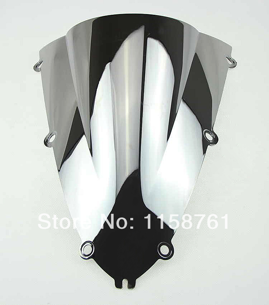 FREE SHIPPING Silver Chrome Motorcycle Windscreen Windshield For Yamaha YZF R1 1998 1999