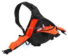 Hombro DSLR Camera Bag Video Carry Case triángulo diagonal portátil para Canon 600D D600 7D 5D2 60D Nikon D60 D90 D700 D7000