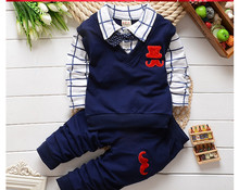 spring autumn Baby boy clothing sets products kids cartoon clothes set babi boys high quality cotton long sleeve t-shirts+pants